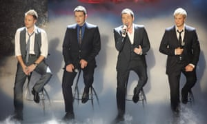 Chair men of the bored... Westlife.