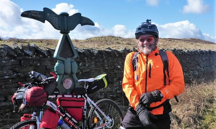 Allen Ashworth bikepacking on the West Highland Way.
