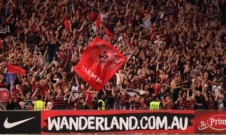 FFA condemn homophobic Wanderers fans' banner in Sydney derby