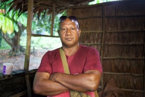 PNG local Ben Pokarup has assisted some of the refugees sent to Manus Island.