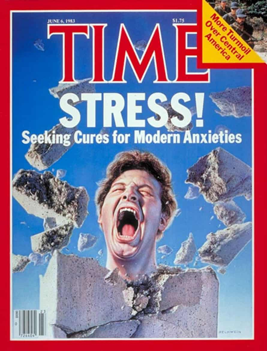 Cover story: stress makes the front of Time magazine in 1983.