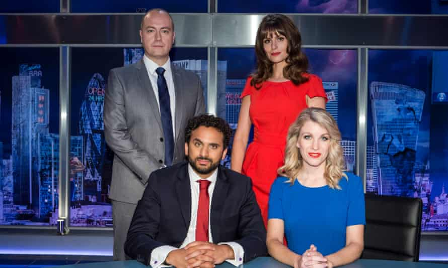 Making the news: on The Mash Report with Steve N Allen, Ellie Taylor and Rachel Parris.