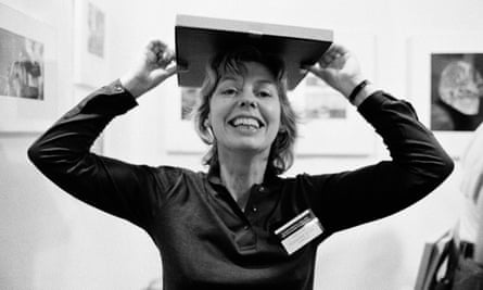 Sue Davies at the Photographers' Gallery, 1980.