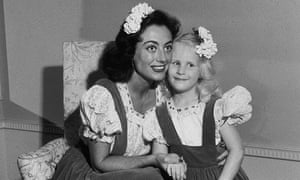 Joan Crawford with her adopted daughter Christina.