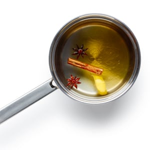 Just honey, anise, cinnamon and lemon.