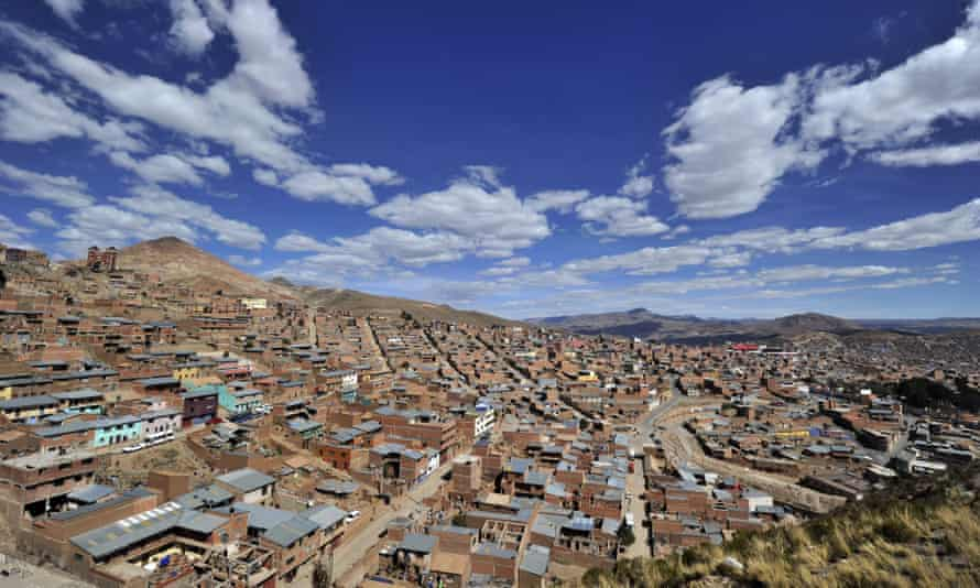 The city of Potosí today is a shell of its former self.