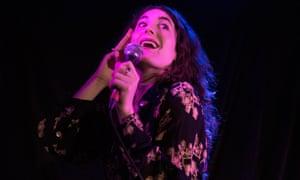 Deliciously daft ... Kate Berlant performs her 2018 Edinburgh fringe show Communikate.