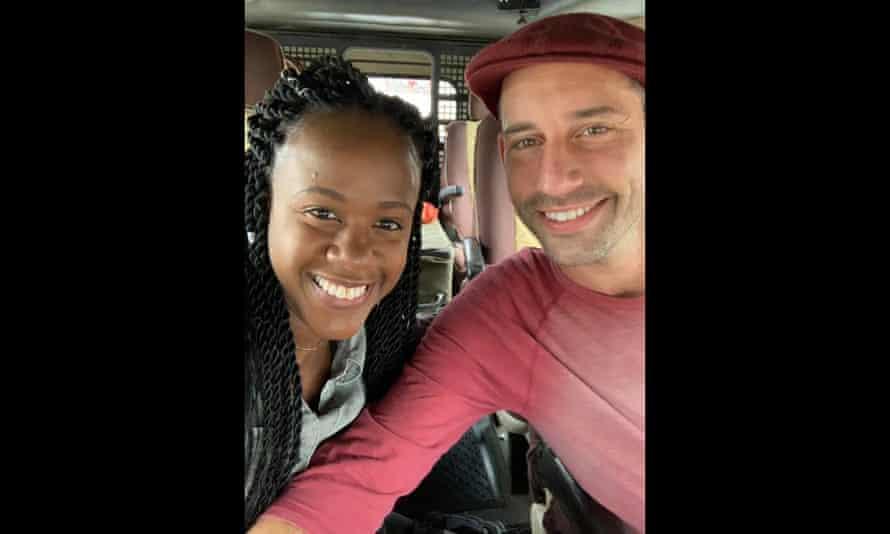 Kenesha Antoine and Steven Weber