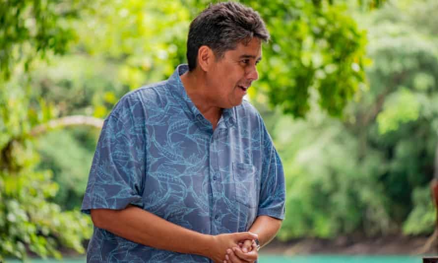 President of Palau, Surangel Whipps Jr
