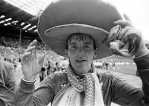 Kenny Dalglish celebrates his side's win.