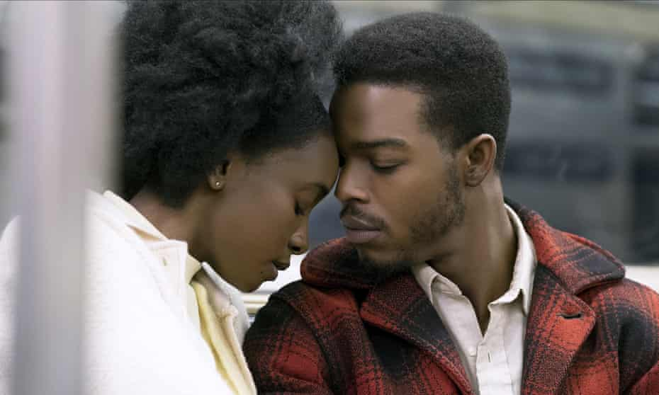 Kiki Layne and Stephan James in the 2018 film of If Beale Street Could Talk.