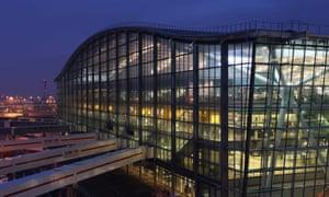 Terminal 5 at Heathrow
