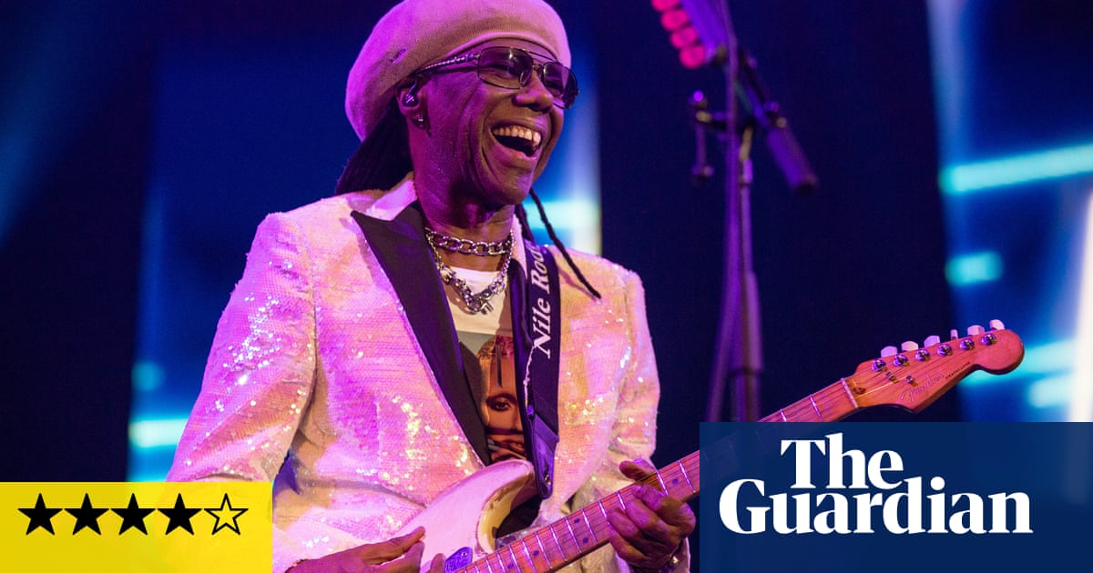 Chic Nile Rodgers Review Timeless Party Classics At The Nile