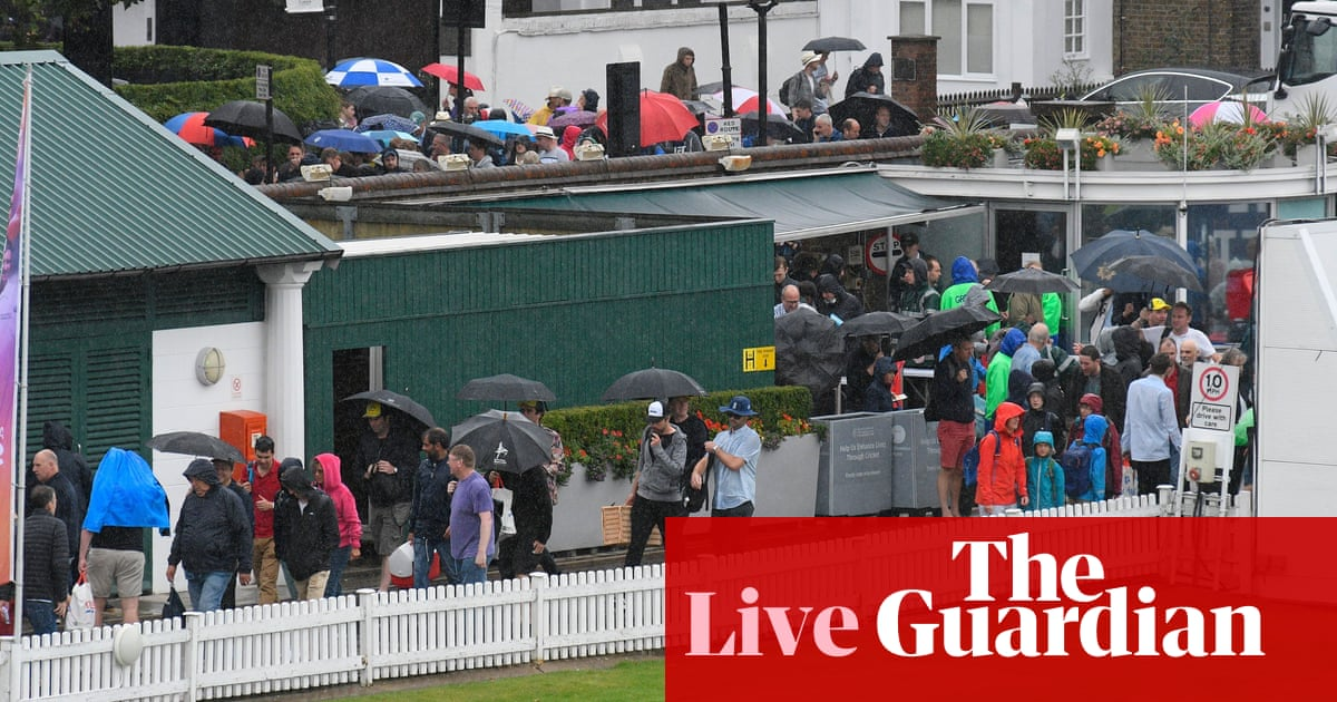 Ashes 2019: England v Australia second Test, day five start delayed by rain – live!