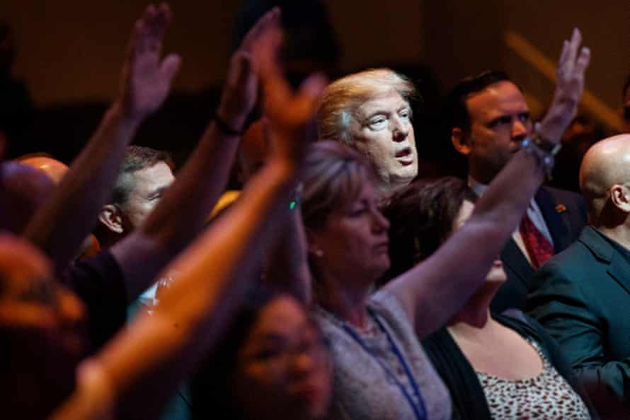 White evangelical America made up one of the most important voting blocs behind Trump in 2016.