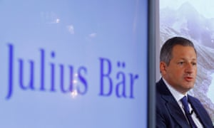 Boris Collardi, chief executive of Julius Bär, says Britain presents an opportunity for the bank.