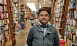 Saber Khan, manager of Topping and Co Booksellers, Bath, was looking forward to customers coming in to the shop again after the latest lockdown in England and Wales.