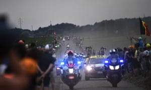 Motorbikes have been a source of controversy at this year's Tour