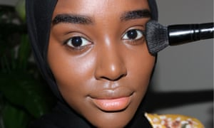 Hani Sidow: 'bold eyeliner is the perfect way to add a pop of colour to your face.'
