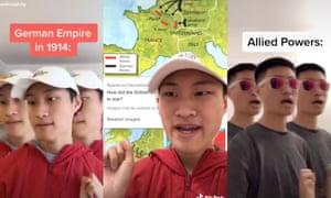 Teens are making history go viral via TikToks.