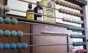 ink and abacus at Ragged School Museum, east Lonfon