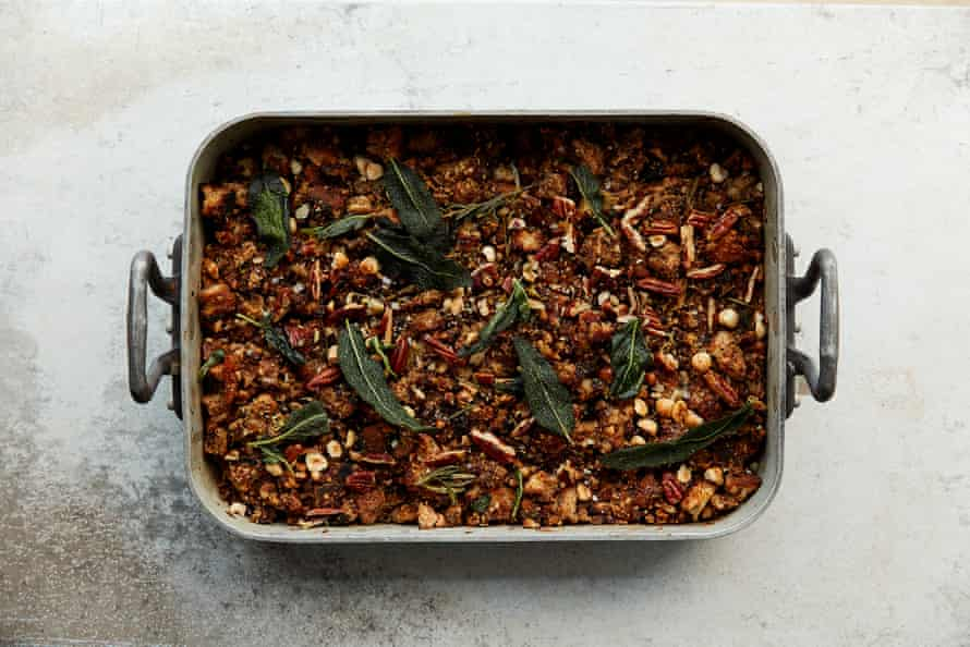 A vegan stuffing for all to enjoy ...