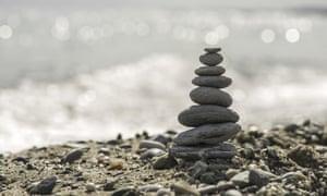 Stacked stones.