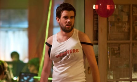 'What's wrong with totes amazeballs your such a sarcastronaut, get on my ironocycle and have some fun BTW!' tweeted Jack Whitehall.