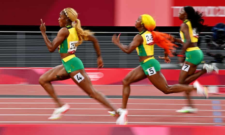 The women's 100m final was a brilliant spectacle but you might have had to wait to watch it