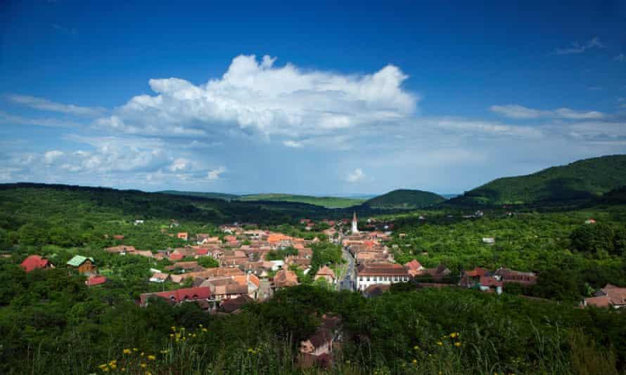 View of Sibiu town.