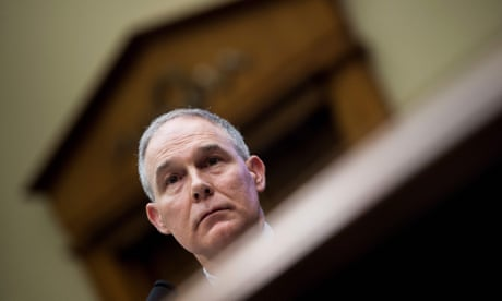 'If I were the president, I'd get rid of you': Scott Pruitt lacerated at ethics hearing
