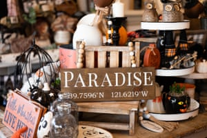 Panda Bell's opened her own store in Orland, selling Paradise-themed goods.