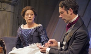 Lizzy McInnerny and Matt Jamie in Harriet Martineau: Dreams of Dancing at Live theatre, Newcastle.