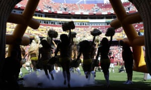 Earlier this week, five Washington cheerleaders claimed they were required to pose topless for a 2013 photo shoot on a trip to Costa Rica and to serve as escorts to a nightclub for male sponsors.
