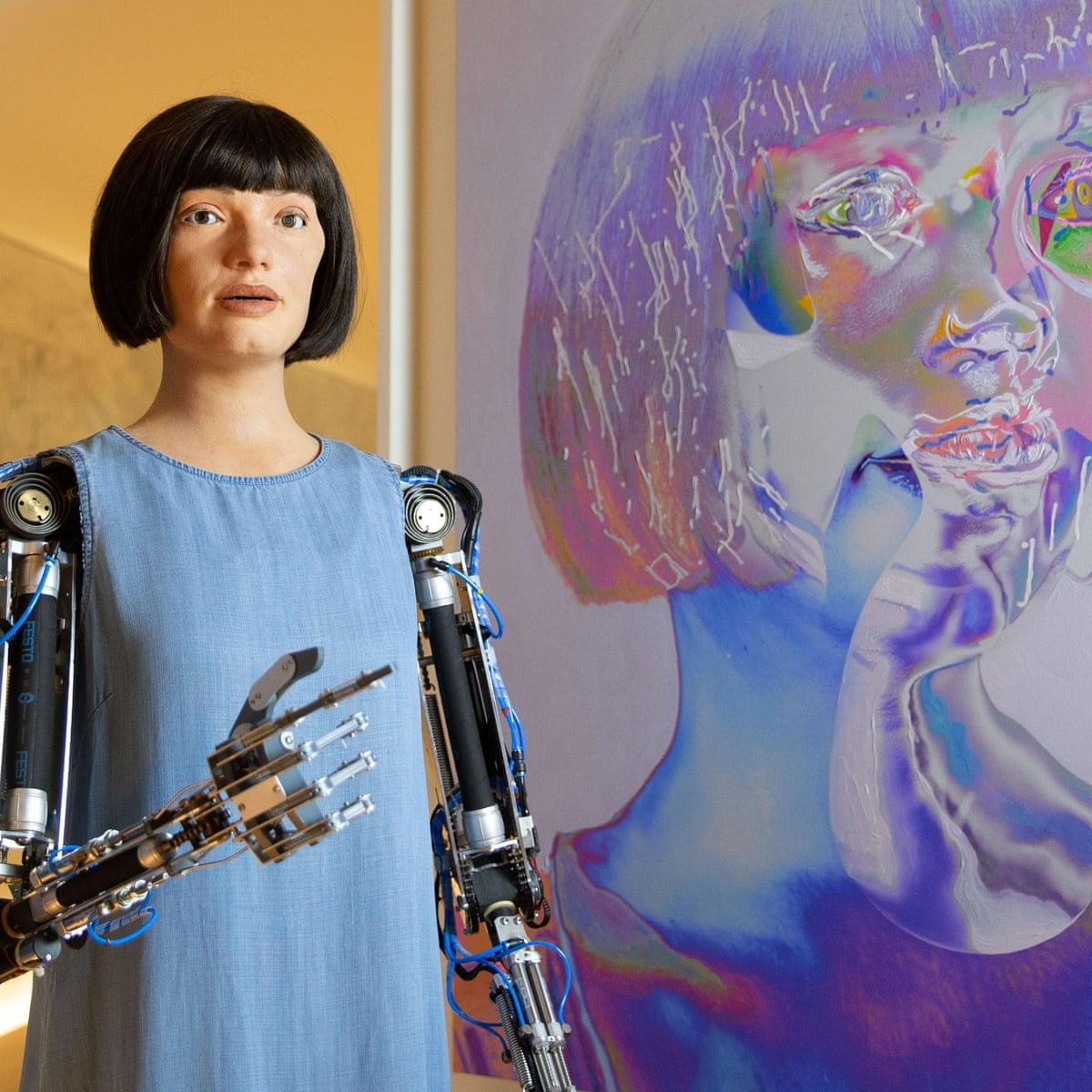 Ai Da the robot painter, Iranian epics and a gaze at God – the ...