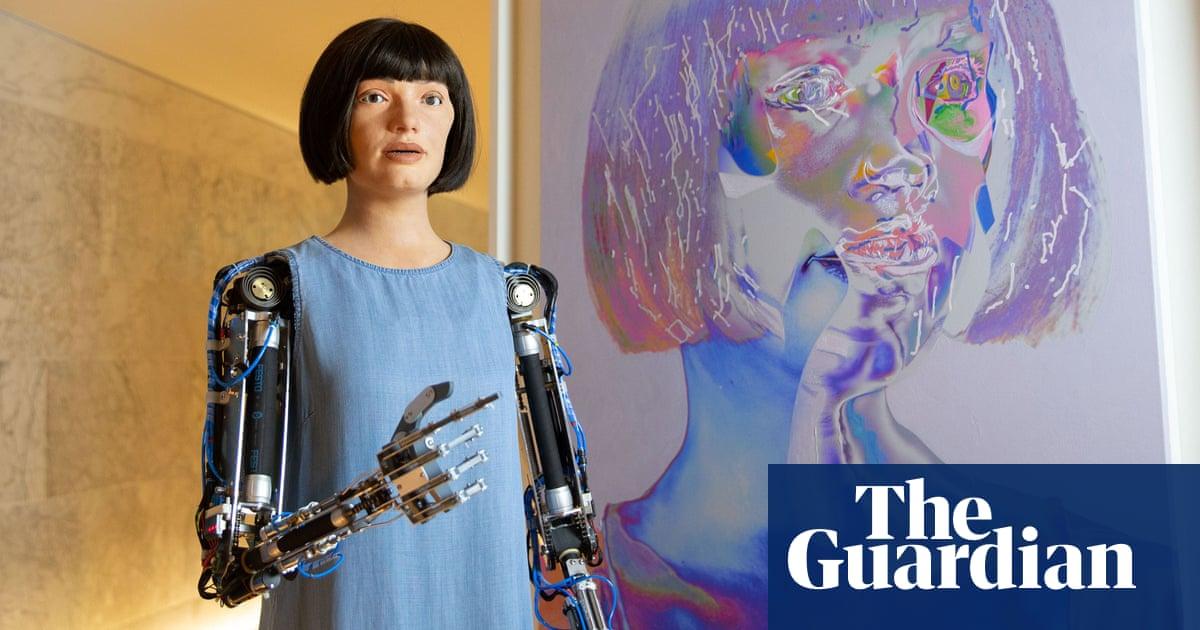 Ai-Da the robot painter, Iranian epics and a gaze at God – the week in art