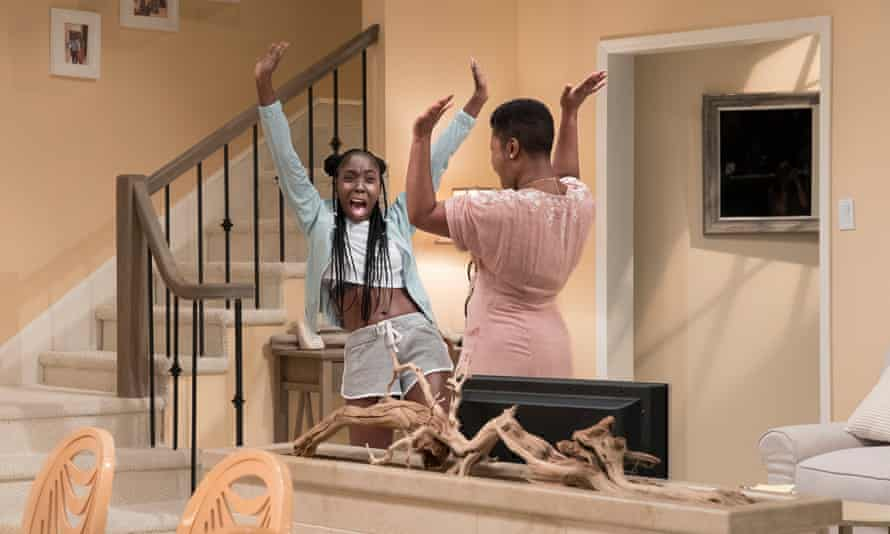 MaYaa Boateng in Jackie Sibblies Dury's Fairview.