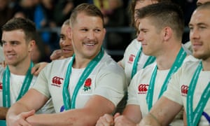 Dylan Hartley and Owen Farrell, seen here in 2016, are regular room-mates on England away trips.