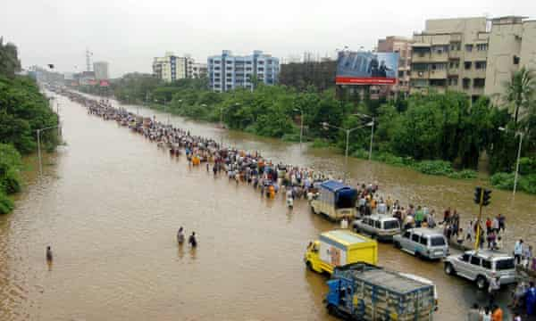 Mumbai's record flood of 27 July 2005 showed up the worst and the best of the city.