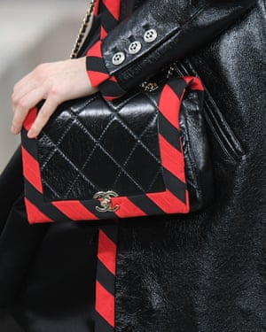 Chanel's iconic padded bag - with a new season twist