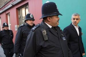 London, England: Mayor of London Sadiq Khan