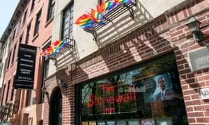 The Stonewall Inn in Manhattan's West Village.
