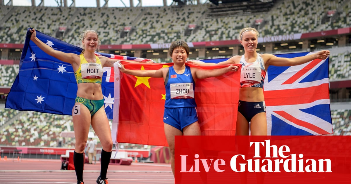 Tokyo Paralympics 2020 day three: athletics, swimming, cycling and more – live!