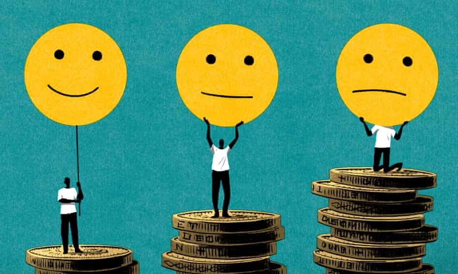 Bill Bragg illustration for Julian Baggini on GDP