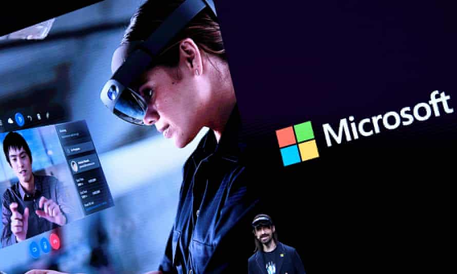 It may not look cool but Microsoft reckons Hololens 2 is the future of working, if not entertainment.