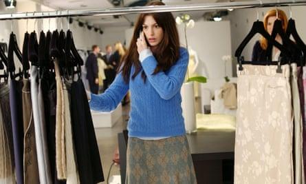 Anne Hathaway in The Devil Wears Prada.