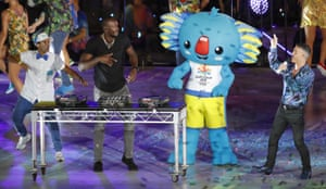 Usain Bolt, on the wheels of steel.