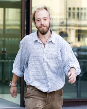 William Pettifer arrives at Westminster magistrates court