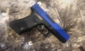 The air gun owned by 12-year-old Kai Agyepong.