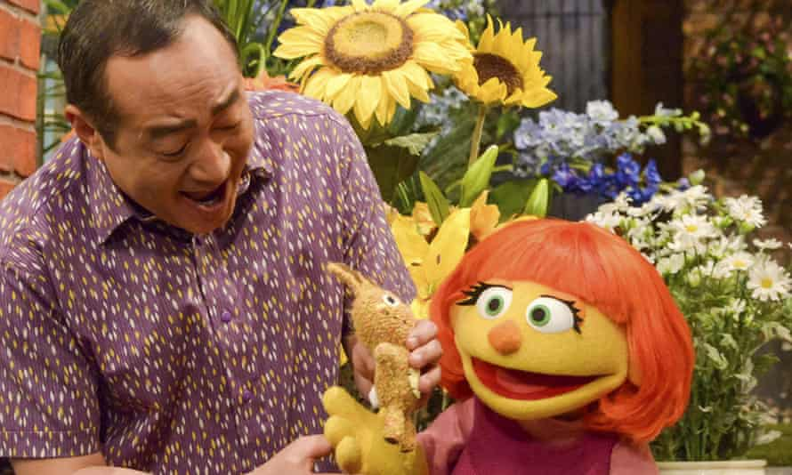 Sesame Street has introduced a new character, Julia, who has autism.